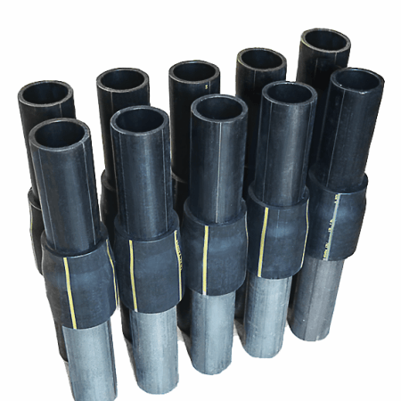 Соединение (переход) полиэтилен–сталь (НСПС) для газопроводов
