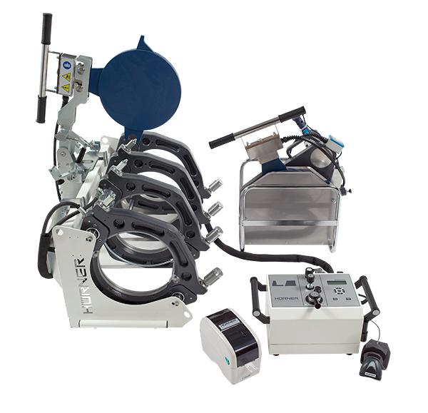 Полуавтоматическая машина с гидроприводом для стыковой сварки HÜRNER WELDCONTROL 315